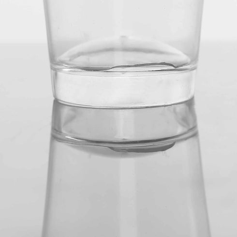 24 Pack Clear 2oz Plastic Round Disposable Shot Glass