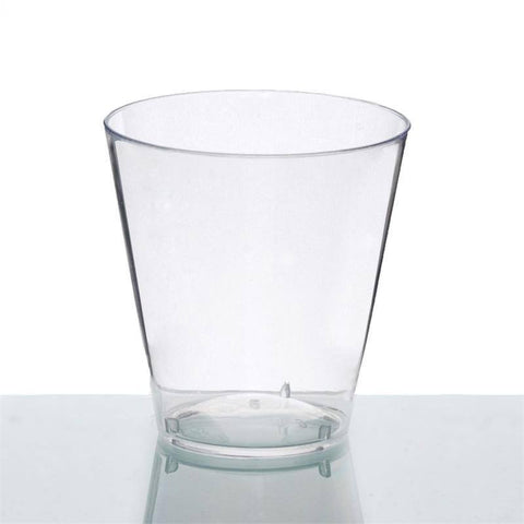 50 Pack - Clear 2oz Disposable Shot Glass - Crystal Collection