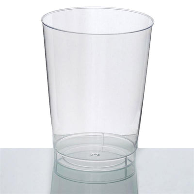 25 Pack - Clear 10oz Disposable Cups  - Crystal Collection