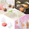 12 Pack Mini Clear Disposable Plastic Cupcake Muffin Cake Container With Dome