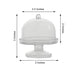 12 Pack Mini Clear Disposable Plastic Cupcake Muffin Cake Container Oval Stand