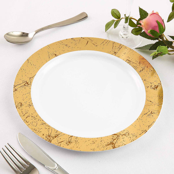 Disposable Wedding Plates | Disposable Plates Wholesale Plastic Dinnerware Efavormart