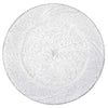 Clear Plastic Plates with Silver Glitter, Plastic Dinner Plates, Party Plates