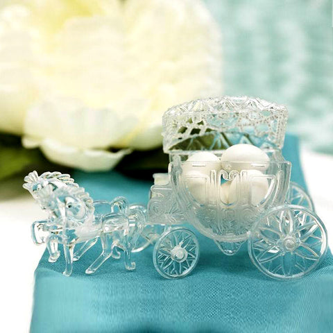Cinderella Carriage-Clear-dz/pk