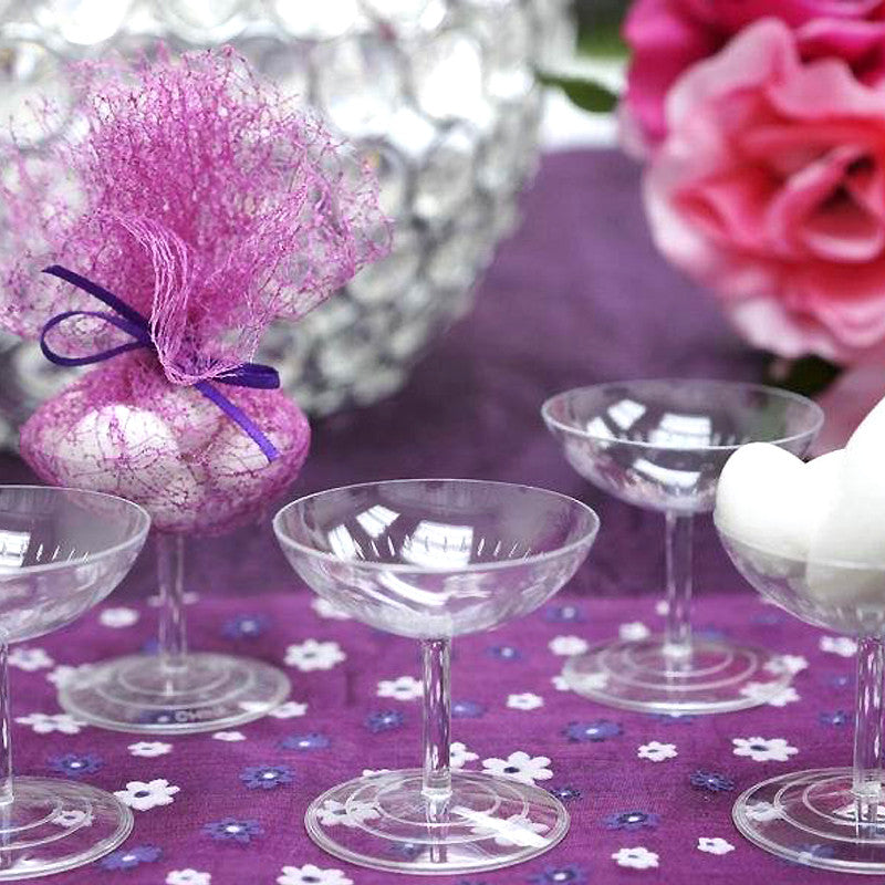 Champagne Cups-Clear-dz/pk