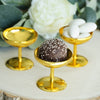 12 Pack 2'' Gold Favor Dessert Cups