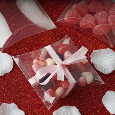Clear Pillow Favor Box - 100/pk