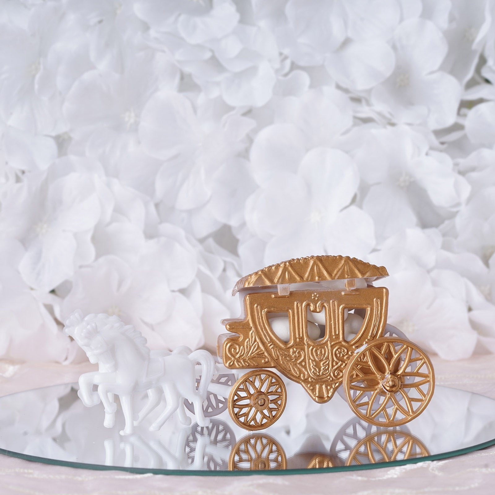 Cinderella Carriage - Gold - 12/pk | eFavorMart