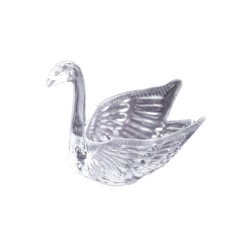 12 Pack Clear Swans