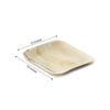 Palm Leaf Plates, Square Dinner Plates, Compostable Plates
