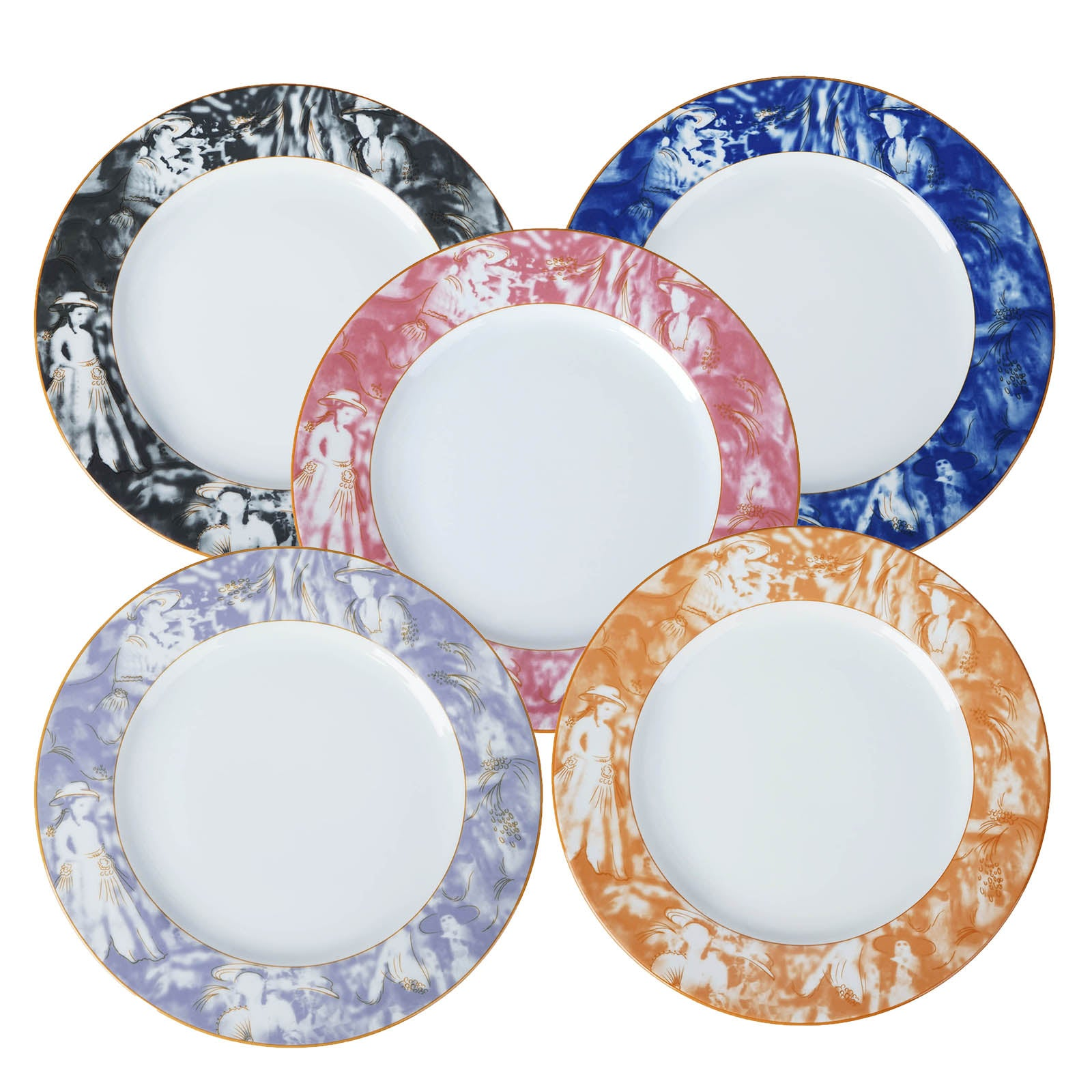 Dishwasher Safe 11.5  Porcelain Chip Resistant Dinner Plate - Black - Set of 12  sc 1 st  eFavormart.com & Dishwasher Safe 11.5