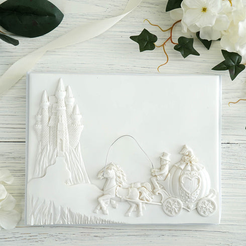 White Happily Ever After Guest Book