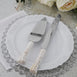 Cake Knife & Server Set | Prince & Princess Handle | Free Gift Box