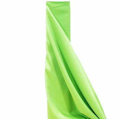 "10 Yards 54"" Wide Apple Green Polyester Fabric Bolt"