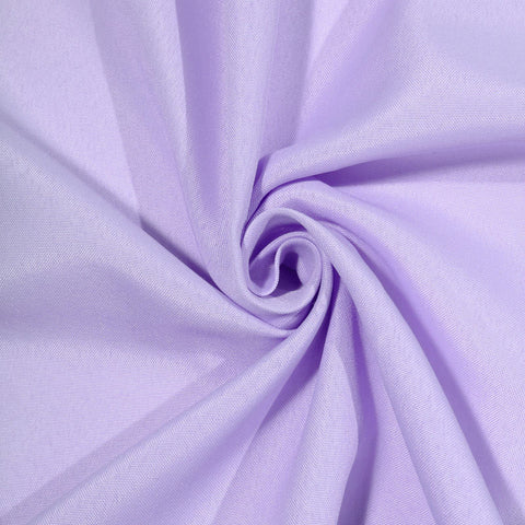 "LAVENDER Polyester Wedding Banquet Restaurant Wholesale Fabric Bolt By Yard - 54"" x 10 YARDS"