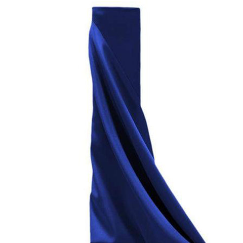 "54"" x 10 Yards Navy Blue Polyester Wedding Banquet Restaurant Wholesale Fabric Bolt"