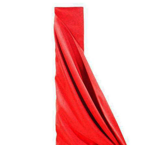 "RED Polyester Wedding Banquet Restaurant Wholesale Fabric Bolt - 54"" x 10 YARDS"