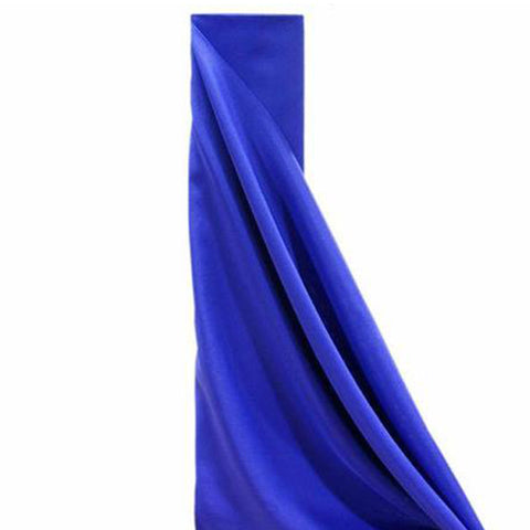 "ROYAL BLUE Polyester Wedding Banquet Restaurant Wholesale Fabric Bolt - 54"" x 10 YARDS"