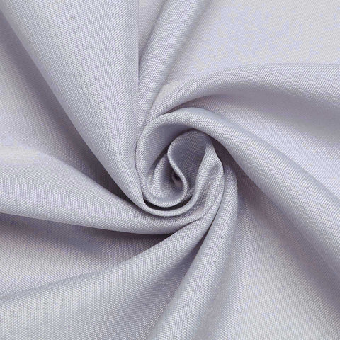 "SILVER Polyester Wedding Banquet Restaurant Wholesale Fabric Bolt By Yard - 54"" x 10 YARDS"