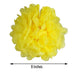 "12 Pack 8"" Yellow Paper Tissue Fluffy Pom Pom Flower Balls"