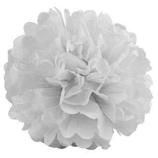 12 PCS Paper Tissue Wedding Party Festival Flower Pom Pom White 14 inch( Sold Out )