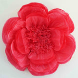 "2 Pack 20"" Fuschia Giant Bloomed Peony Paper Flower"