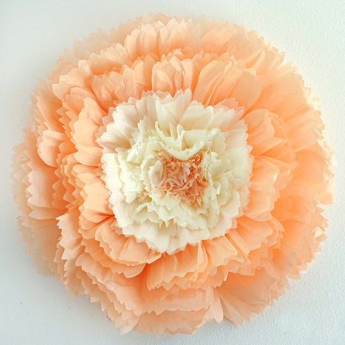 2 pack 20 light coral diy giant carnation paper flower wall 2 pack 20 light coral giant carnation paper flower mightylinksfo