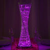 "24"" Color Changing LED Spiral Metal Tower Columns - 1pcs"