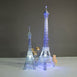 5 Ft Color Changing LED Metal Eiffel Tower