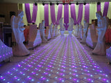Illuminated Mirror LED Dance Floor - 8/set