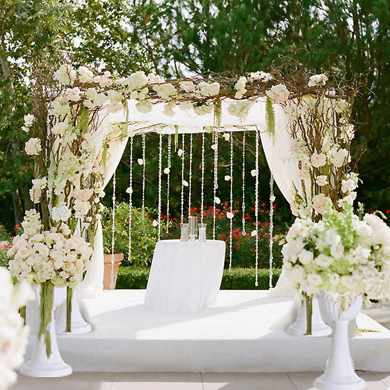 4 Pcs Classic Italian Inspired Decorative Wedding Party
