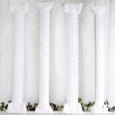 Glorious Roman PVC Columns Extension - 4/set