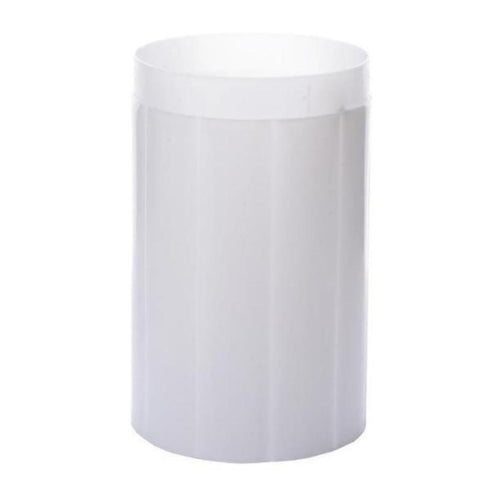 4 Pack White PVC Glorious Roman Inspired Pedestal Column Extension
