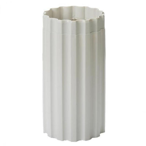 4 Pack | White PVC | Empirical Roman Inspired | Pedestal Column Extension