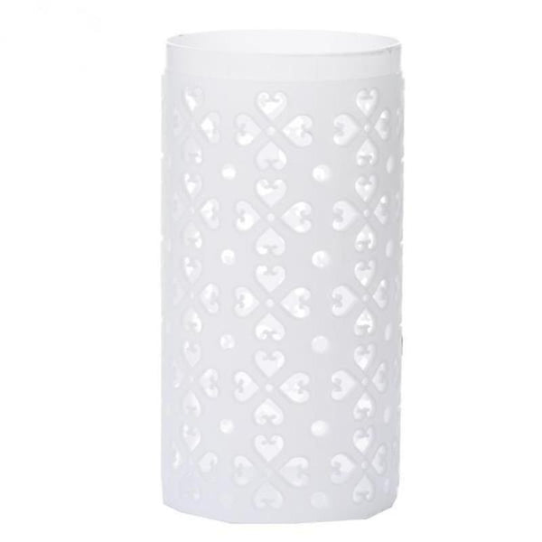 4 Pack White PVC Venetian Roman Inspired Pedestal Column Extension
