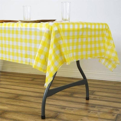 "Buffalo Plaid Tablecloths | 54"" x 72"" Rectangular 