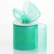 "25 Yards 3"" Mint Organza Ribbon With Satin Edges For Wedding Decoration"