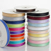 "25 Yards 3/8"" Peach Grosgrain Ribbon"