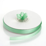 "25 Yards 3/8"" Mint Grosgrain Ribbon"