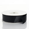"25 Yards 7/8"" Black Grosgrain Ribbon"