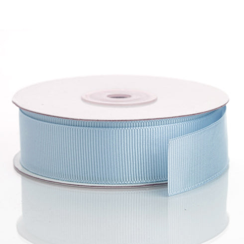 "25 Yards 7/8"" Blue Grosgrain Ribbon"