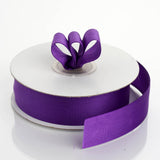 "25 Yards 7/8"" Purple Grosgrain Ribbon"