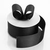"25 Yards 1.5"" Black Solid Grosgrain Ribbon Wholesale"