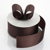 "25 Yards 1.5"" Chocolate Grosgrain Ribbon"