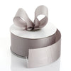 "25 Yards 1.5"" Silver Grosgrain Ribbon"