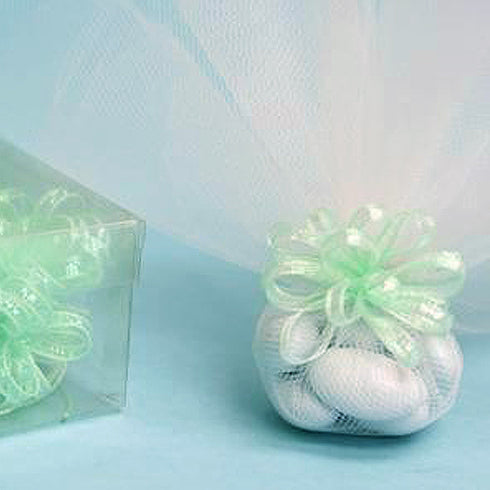 36 PCS Mint Ribbon Bows Wedding Party Dress Favor Gift Craft
