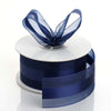 "25 yards 1.5"" Navy Blue Satin Center Ribbon"