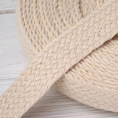 "10 Yards Ivory 7/8"" Picturesque Woven Rustic Jute Burlap Ribbons"