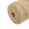 328Ft | 2-ply Natural Jute Rope Twine, DIY Crafts Gift Packing String