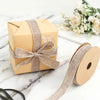 "10 Yards 7/8"" Natural Tone Jute Burlap Ribbons"